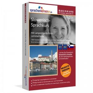 Slowenisch für Anfänger-Multimedia Sprachkurs-A1/A2+MP3-Audio-Paket