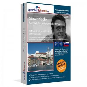 Slowenisch-Fachwortschatz Vokabeltrainer-Niveau C1/C2
