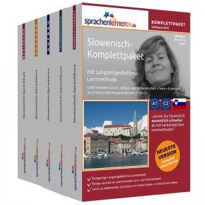 Slowenisch Komplettpaket-Das rundum sorglos Paket-Niveau A1-C2