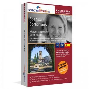 Spanisch für Anfänger-Multimedia Sprachkurs-A1/A2+MP3-Audio-Paket