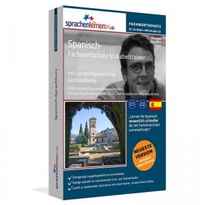 Spanisch-Fachwortschatz Vokabeltrainer-Niveau C1/C2