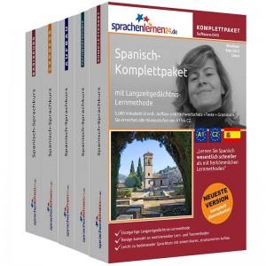 Spanisch Komplettpaket-Das rundum sorglos Paket-Niveau A1-C2