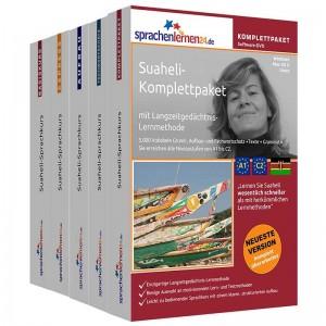 Suaheli Komplettpaket-Das rundum sorglos Paket-Niveau A1-C2