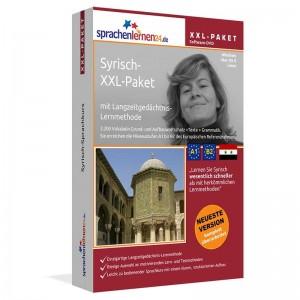 Syrisch XXL-Paket-Komplettkurs-Niveau A1-B2