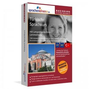 Türkisch für Anfänger-Multimedia Sprachkurs-A1/A2+MP3-Audio-Paket