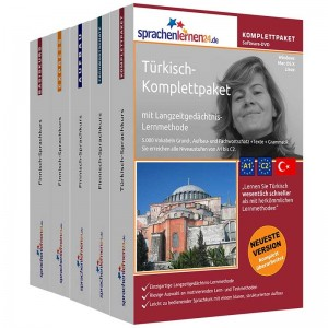 Türkisch Komplettpaket-Das rundum sorglos Paket-Niveau A1-C2