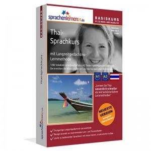 Thai für Anfänger-Multimedia Sprachkurs-A1/A2+MP3-Audio-Paket
