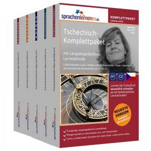 Tschechisch Komplettpaket-Das rundum sorglos Paket-Niveau A1-C2